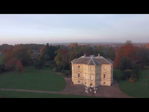 Aerial View of Danson Park Bexleyheath Kent/London-England-UK