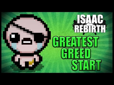 BEST GREED MODE START!! - Afterbirth Greed Mode [23]
