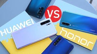 Очень Странные Дела. Тест Huawei P30,Honor 20 Pro, P30 Pro, 20 и Обзор в Камере. Huawei Honor Обзор