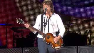 Being for the Benefit of Mr. Kite! - Paul McCartney Milwaukee, WI - Miller Park 7/16/13