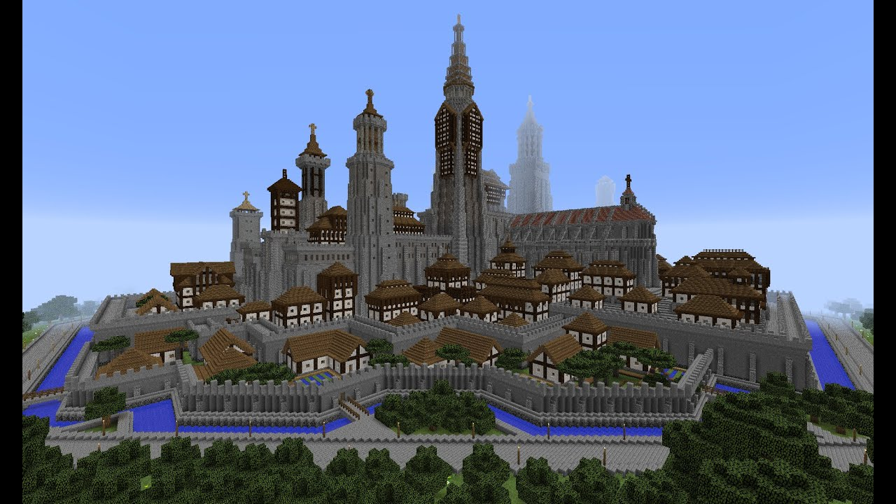 Minecraft 1 8 Empire Of Medieval Youtube