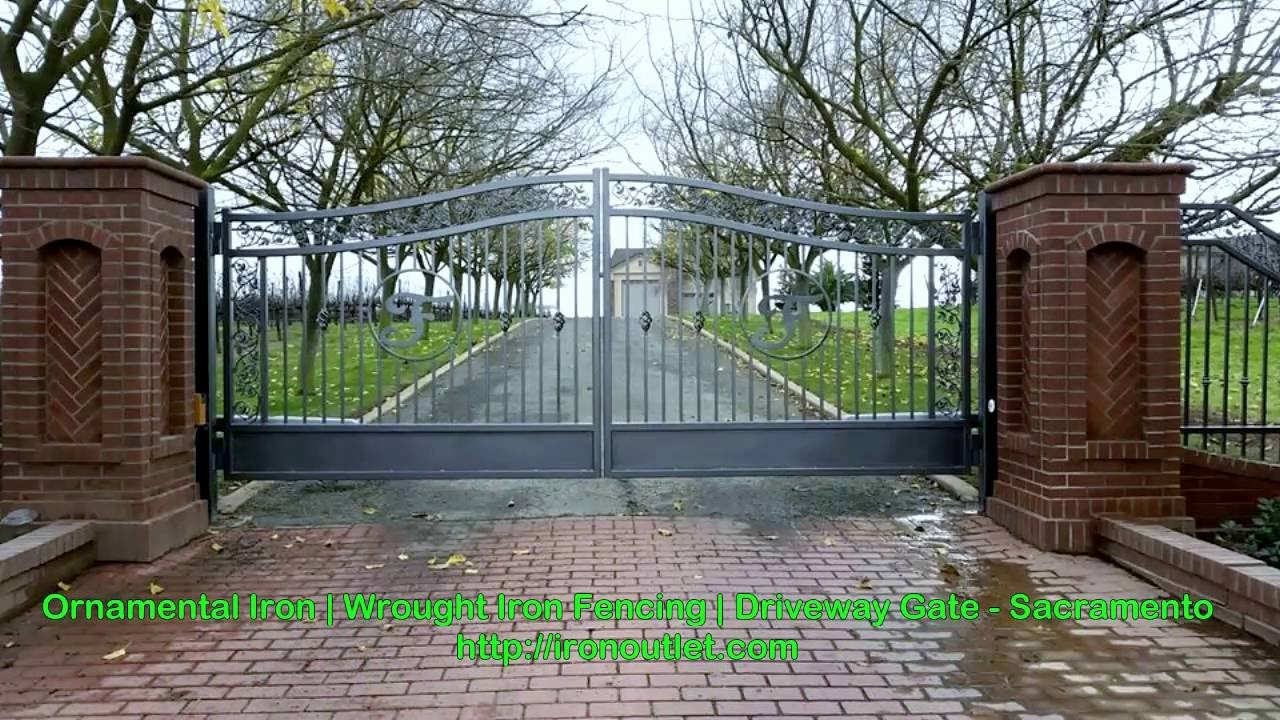 Iron Entry Gates Usa Ornamental Wrought Iron Railings