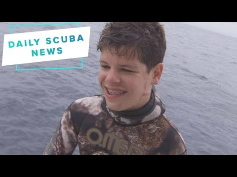 Daily Scuba News – Teen Attacked By Shark Jumps Back Into The Ocean