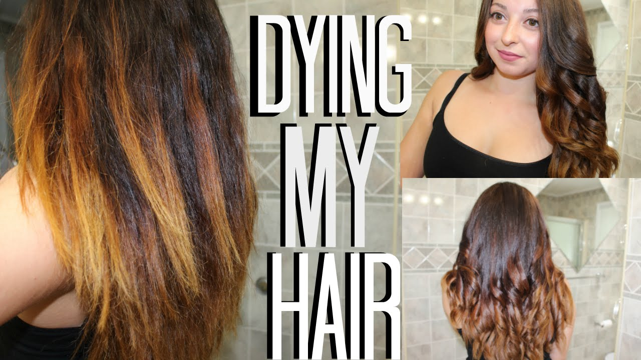 Fixing My Hair Garnier Olia Brilliant Color 6 3 Light