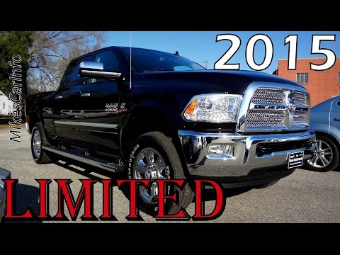2015 RAM 2500 LARAMIE LIMITED - Ultimate In-Depth Look