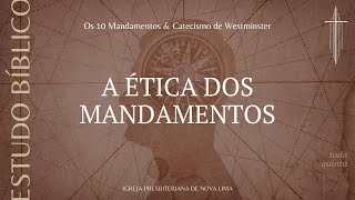 [Estudo Bíblico] A ética dos dez mandamentos pt.2 | IPNL | 16.07.2020