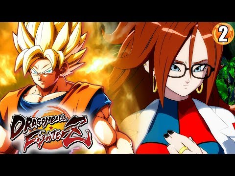 ANDROID 21'S DEVIOUS PLOT BEGINS!!! Dragon Ball FighterZ Sto