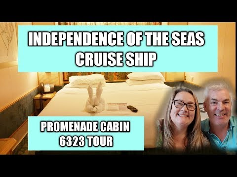 Promenade Cabin 6323, Independence of the Seas