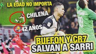 CR7 Y BUFFON son ETERNOS Salvan a la Juve Milan vs Juventus 1 1 Copa Italia Sarri Fuera