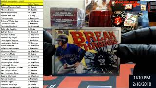 Baseball Mixer palooza KIR 003   The Break   2 x Bellinger 2017 Topps Chrome Autos with color!!!
