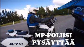 MP-POLIISI PYSÄYTTÄÄ