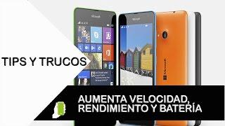 Microsoft Lumia 535 tips y trucos para Windows  (aumenta velocidad, rendimiento y batería)