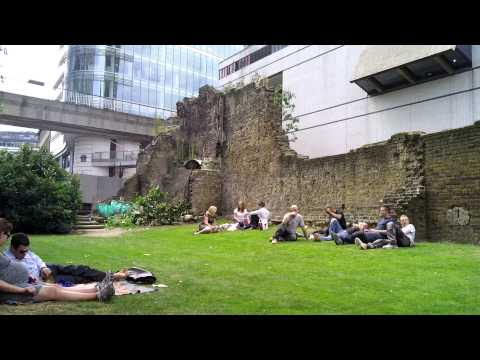London City Wall - Bastion 14