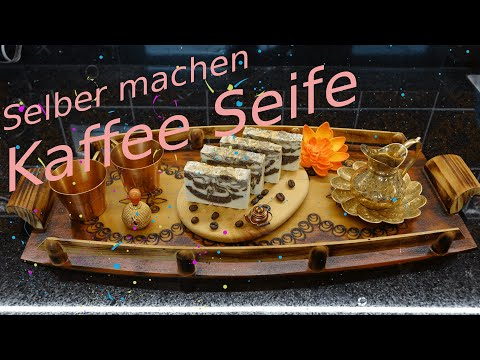 Kaffeeseife Selber Machen / Naturseife  Kaffee Seife Sieden / DIY / Seifenherstellung Zu Hause