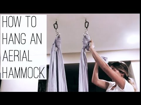How To Hang An Aerial Hammock