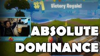 ABSOLUTE DOMINANCE (Fortnite Battle Royale)
