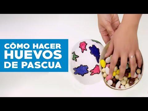 C mo hacer huevos de pascua youtube - Videos de art attack manualidades ...