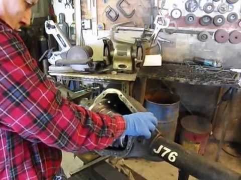 Ring & Pinion Set up, quick and easy with Jantz Engineering Pt 1