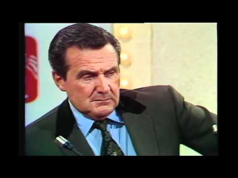 Kreskin meets Patrick Macnee the actor