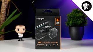 Spigen Kuel CD Slot Magnetic Car Mount (QS24) 2018 Review   4K