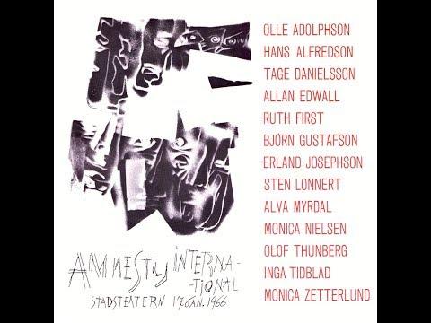 Amnesty International - Stadsteatern, Stockholm, 1966-01-17 (LP)