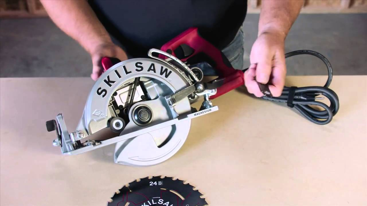 Skilsaw worm drive circular saw tips mounting the blade youtube skilsaw worm drive circular saw tips mounting the blade greentooth Gallery