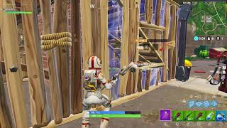 Trapping a wild default skin then trying to protect it (Fortnite)