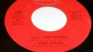ESKO AFFAIR - SALT AND PEPPER (MERCURY) #(Be Yourself) Make Celebrities History
