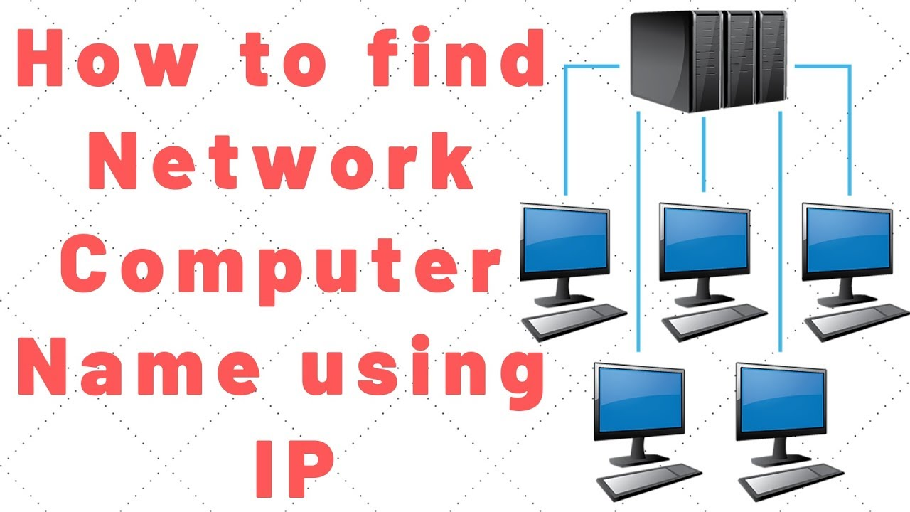 how to find computer name using ip