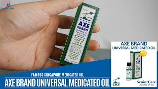 Famous Singapore Axe Brand Universal Medicated Oil