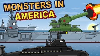 """Monsters in America Episode 6 - Turning point""  Cartoons about tanks"