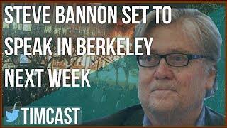STEVE BANNON TO SPEAK IN BERKELEY NEXT WEEK, PROTESTS EXPECTED