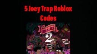 5 Codici Roblox di Joey Trap
