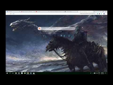 Night King Hd Wallpaper Chrome Theme