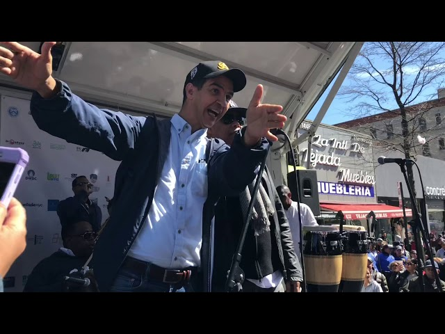 Rubby Pérez y el Concejal Ydanis celebran el dia de la Tierra