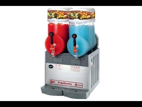 slush machine setup video - Slushie Machines