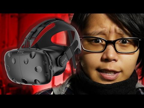 I GOT SORE.... 😭 ► MY FIRST VR EXPERIENCE (HTC Vive + Virtual Portal HK)