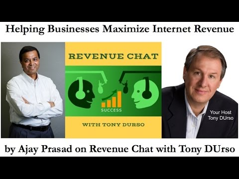 Helping Businesses Maximize Internet Revenue by Ajay Prasad