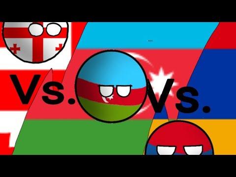 Armenia Vs. Georgia Vs. Azerbaijan