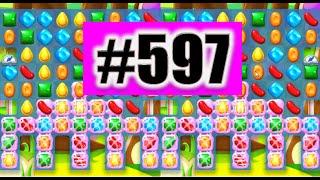 Candy Crush Soda Saga Level 597 NEW! | Complete!