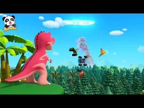 驴Quien Es M谩s Fuerte?    Recopilaci贸n de Canciones Infantiles   Dinosaurios   BabyBus Espa帽ol
