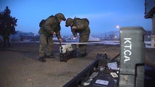 Военнослужащие из РФ готовятся к работе в российско-турецком центре по контролю за прекращением огня
