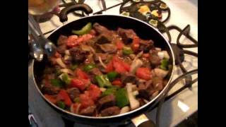 Mariposa's Kitchen Carne Guisada Dinner Pt 1