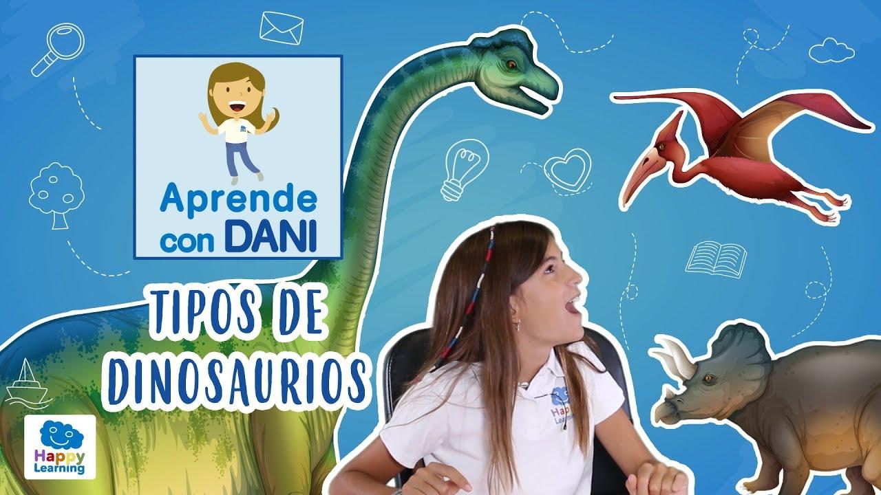Tipos De Dinosaurios Cuantas Especies Hay Aprende Con Dani Youtube Los primeros en llamarse ¨dinosaurios¨. tipos de dinosaurios cuantas especies hay aprende con dani