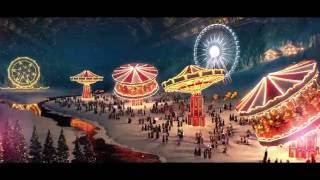 [HD] Новогодние рекламные заставки (Первый канал, зима 2015-16)