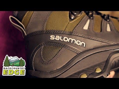 e28438f698b8 Salomon Men s Quest 4D 2 GTX Backpacking Boots - YouTube