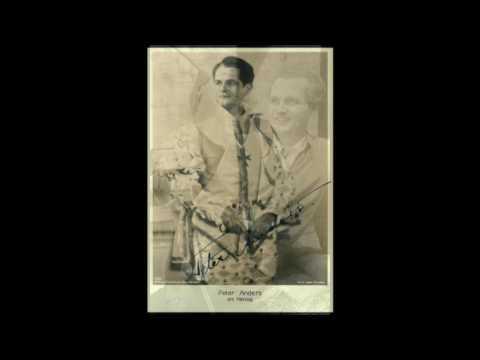 "Peter Anders sings Franz Schubert ""Leise flehen meine Lieder"""