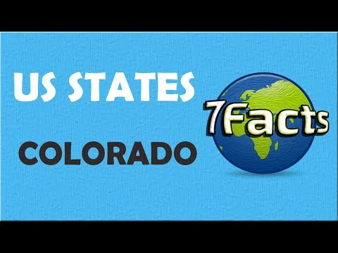 7 Facts about Colorado
