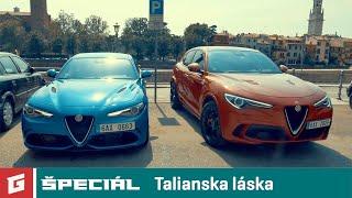 Alfa Romeo Stelvio QV vs Giulia QV - GARAZ.TV špeciál