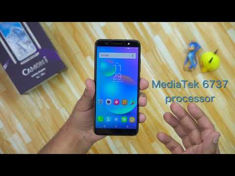 Tecno Camon i: Unboxing | First Look | Hands on | Launch